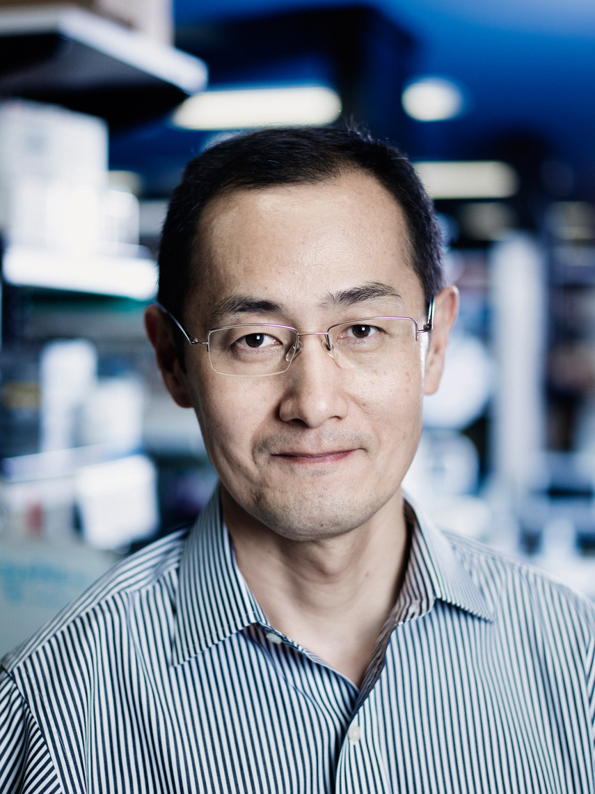 Shinya Yamanaka, Japanese Nobel Prize-winning stem cell researcher // Photographer: Aki-Pekka Sinikoski