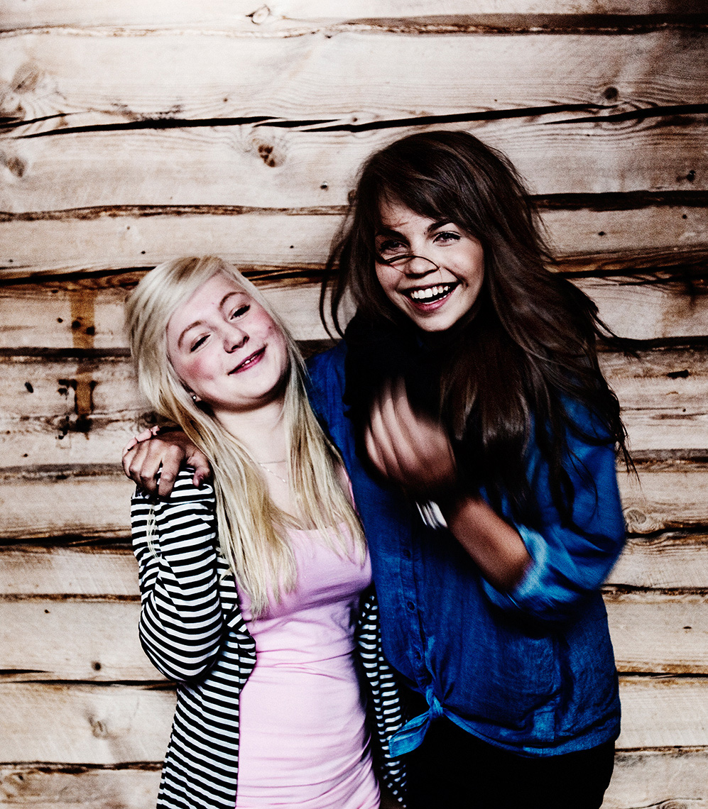 Finnish Teens from Lapland (Cover for Suosikki Magazine) // Photographer: Aki-Pekka Sinikoski